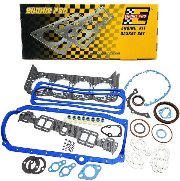 Engine Pro 30-1269 Full Engine Overhaul Gasket Set for 1987-1995 Chevrolet SBC 350 5.7L TBI