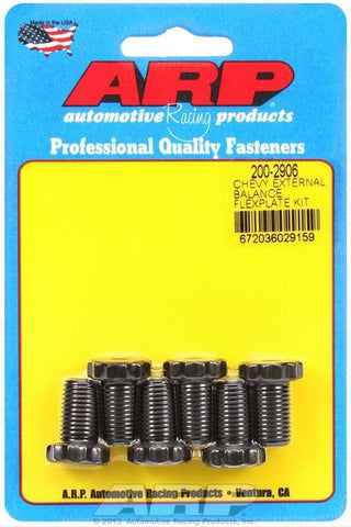 ARP 200-2906 GM CHEVY EXTERNAL BALANCE FLEXPLATE BOLT KIT