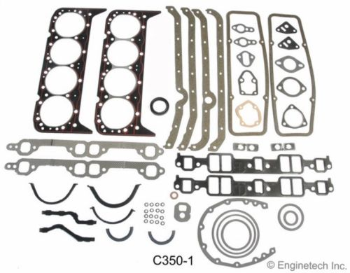 Enginetech Stage 4 Performance Master Rebuild Kit for 1967-1985 Chevrolet Small Block 5.7L 350 Engines