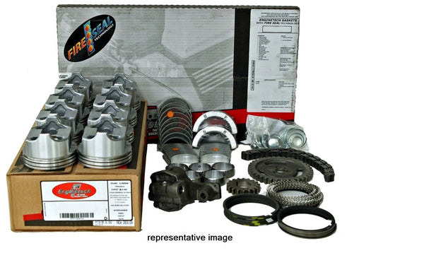 Enginetech RCF302BP Engine Rebuild Kit for 1972-1976 Ford Car Truck 5.0L 302