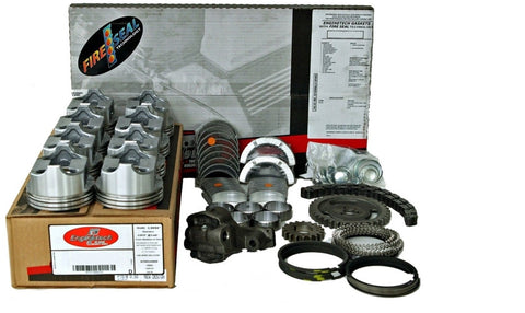 Enginetech RCC350A Rebuild Kit with Flat Top Pistons for 1967-1985 GM Truck 5.7L 350 Car & LT Truck