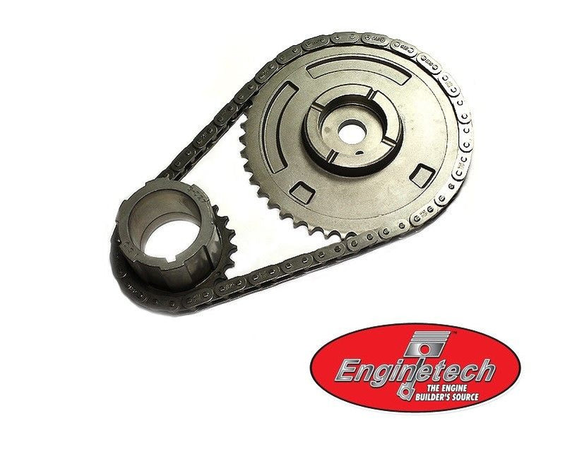 Enginetech TS4194B Timing Chain Set for 2007-2012 GM Gen IV 4.8L 5.3L 6.0L 1 Bolt Non-VVT Engines
