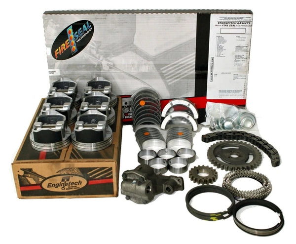 Engintech RRCJ242DP Engine Rebuild Overhaul Kit for 1996-1998 Jeep 242 4.0L L6 Cherokee Wrangler
