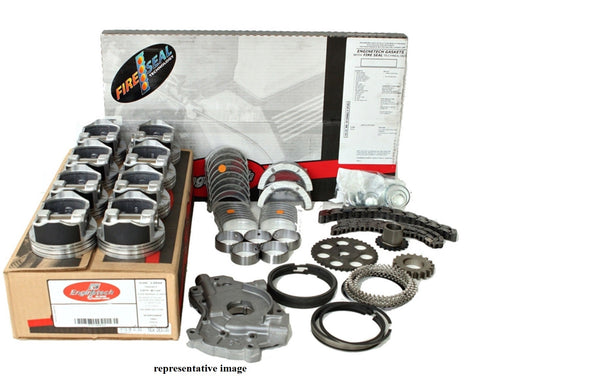 "Enginetech RCC346BP Engine Rebuild Overhaul Kit for 2002 Chevrolet 5.7L LS1 Engines Vin ""G"""