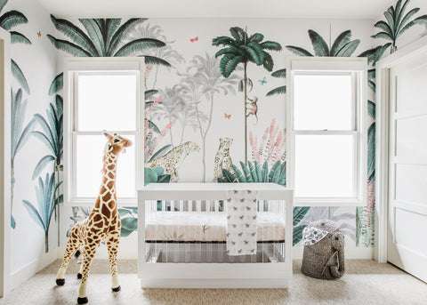 jungle nursery from munks and me
