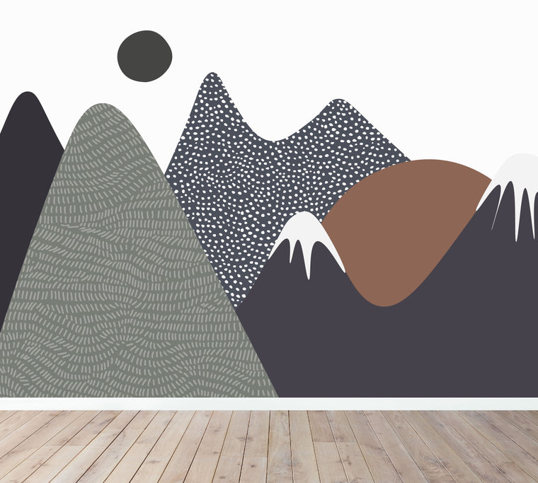 Mountain Mural Wallpaper
