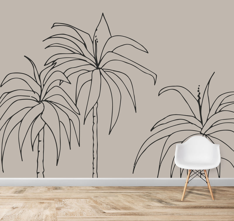 Dracaena Wallpaper Mural