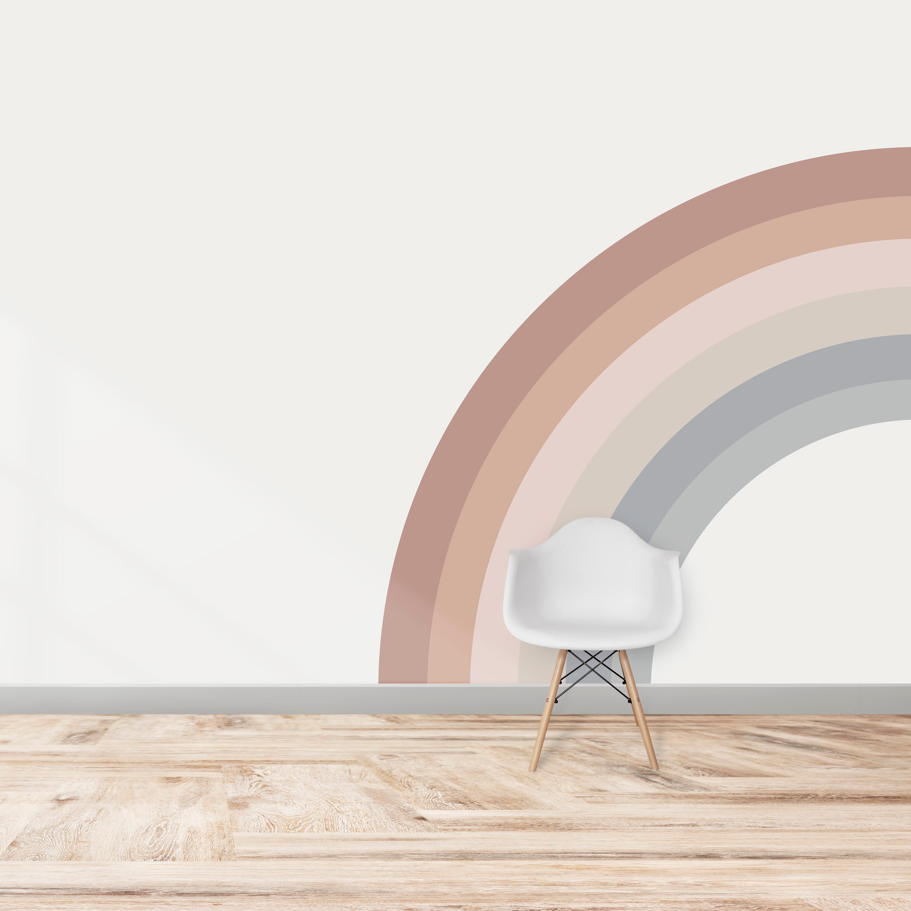 Corner Rainbow Wallpaper