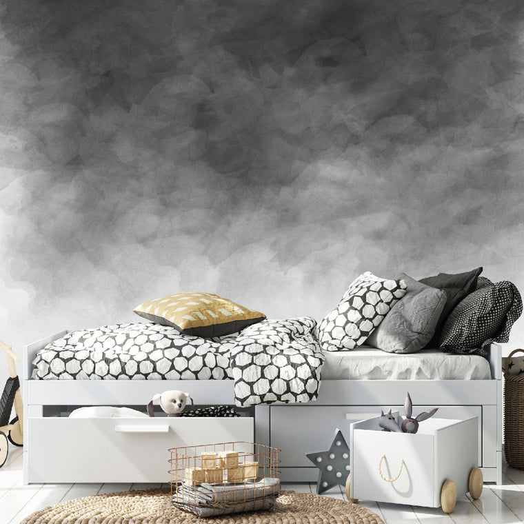 Watercolour Wallpaper - Greys