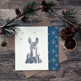 """Mule Tide"" Donkey Christmas Card - Bella & Bryn"