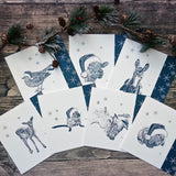 pack-of-seven-animal-pun-christmas-cards02