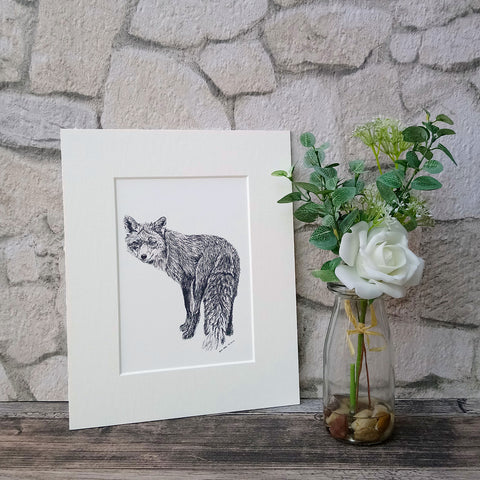 Frederick The Fox Giclee Art Print - Bella & Bryn