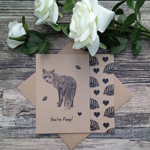 """You're Foxy"" Card - Bella & Bryn"