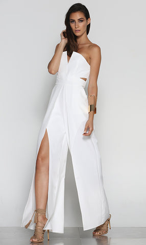 Freelove Jumpsuit - White