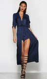 Xanadu Crossover Playsuit - Navy