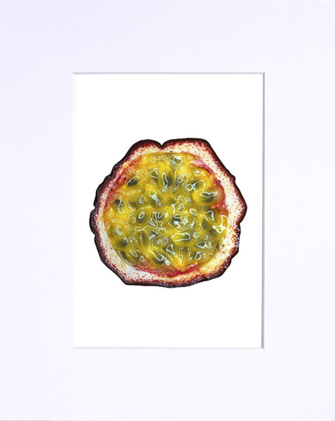 "Passion Fruit 5""x7"" print"