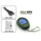Deep-Track's FISHING & HUNTING Mini Keychain GPS