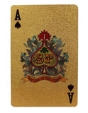 "24k Gold Plated ""BIG GAME"" Poker Playing Cards - Thirsty Buyer - 3"