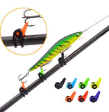 The HOOK LOCKER (Super Value 50 Pack!) - Secures Any Style Hook or Lure to Your Rod!
