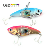 "LED ""Deep Dive"" Flashing Fishing Lures - 2 Pack"