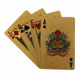 "24k Gold Plated ""BIG GAME"" Poker Playing Cards - Thirsty Buyer - 2"