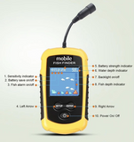 "Mobile ""Pocket Portable"" LCD Fish Finder 2.0 - NEW"