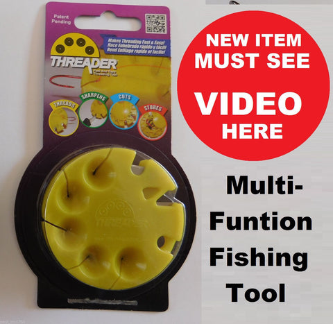 """THE THREADER"" 5-in-1 Fishing Tool"