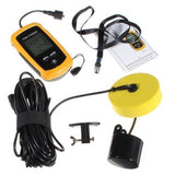 "The ""ULTIMATE"" Ice Fishing Package: Ice Fishing LCD Fish Finder + 26 Ice Fishing Super Jigs"