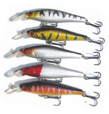 MInnow Diving Crankbait Lures - 5 Pack - Thirsty Buyer - 2