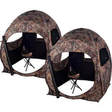 Buy 1 Get the 2nd FREE (Limited Time) - 2 MAN Hunter's Realtree Camo Ground Blind w/ 2 Free Blind Chairs! - Thirsty Buyer - 8
