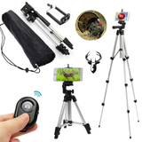 "Precision Optical's Hunting ""Smartphone Video Recording"" Tripod Stand w/ BONUS Wireless Remote"