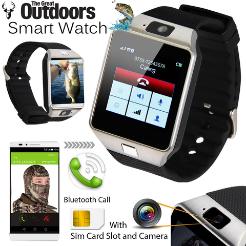 The GREAT OUTDOORS Fishing & Hunting Smart Watch -  Never Reach for Your Phone Again in the Outdoors!