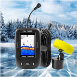 "PRO TOUCH ""Portable"" Ice Fishing Color LCD Fish Finder - 2021 Model"