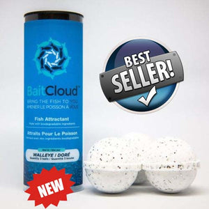 "ALL NEW Fishing Formulated Bait ""CLOUD"" Balls - Gets them Excited to Bite!"
