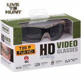 HD Hunting Camo Glasses w/ Built-in VIDEO CAMERA - Record Your Hunts!
