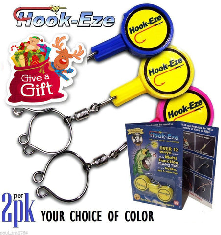 HOOK EAZY - Safe & Fast Hook Tying (2 per pack)