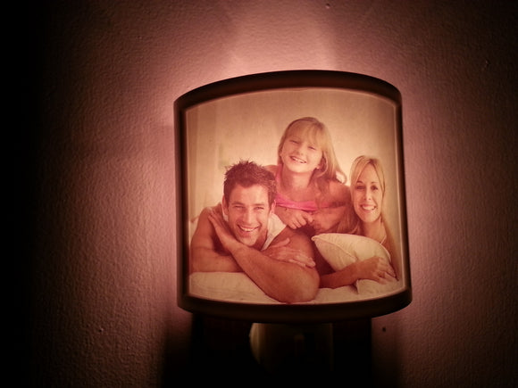 Customizable Newborn/Family Photo Nightlights - 2 Nightlights w/ this Special Offer - Thirsty Buyer - 1