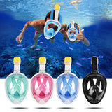 "Ocean Optic's 180° ""Full Face"" HD Snorkel Mask - NEW"