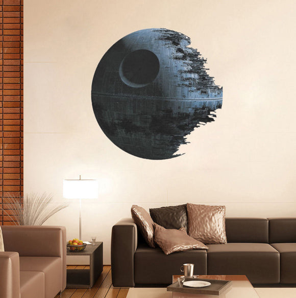 Death Star 3D Vinyl Removable Wall Art Mural - Thirsty Buyer - 1