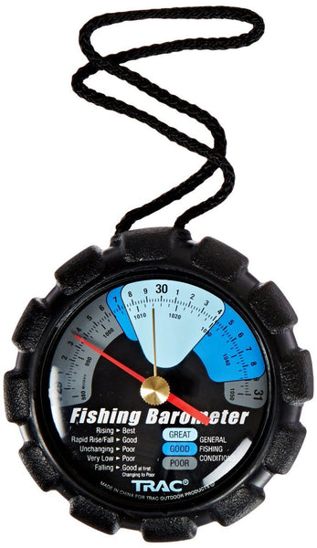Precision outdoors color coded fishing barometer for Barometric pressure forecast for fishing