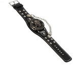 The Skull & Bones Chain Cuff Watch - Thirsty Buyer - 2