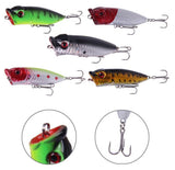 Popper Crank Bait Lures - 5 Pack - Thirsty Buyer - 3
