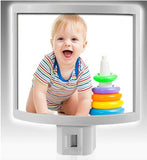 Customizable Newborn/Family Photo Nightlights - 2 Nightlights w/ this Special Offer - Thirsty Buyer - 6