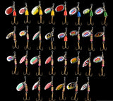 Metal Spoon Spinner Baits (Mepps style) - 30 Pack - Thirsty Buyer - 1