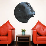 Death Star 3D Vinyl Removable Wall Art Mural - Thirsty Buyer - 3