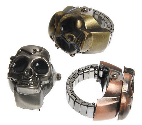 All-New Skull Ring Watch - Thirsty Buyer - 1