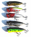Popper Crank Bait Lures - 5 Pack - Thirsty Buyer - 2
