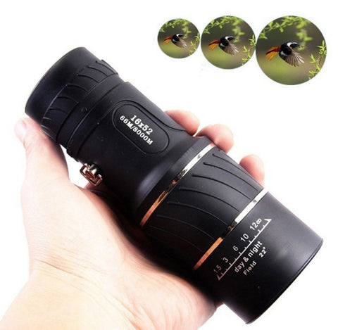 Bird Watcher's Compact 16x52 Optic Lens Monocular - Thirsty Buyer - 1