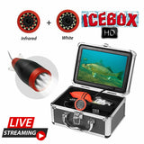 """ICE BOX"" Advanced ICE FISHING Underwater Video Camera System - Know What's Below!"