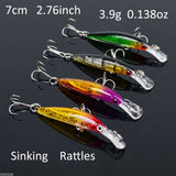 Thirsty's INCREDIBLE LURE DEAL - 56 Crank Baits Assorted Minnow Lures